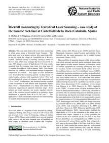 Rockfall Monitoring by Terrestrial Laser... by Abellán, A.