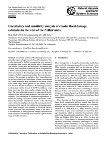 Uncertainty and Sensitivity Analysis of ... by De Moel, H.