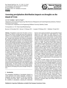 Assessing Precipitation Distribution Imp... by Vrochidou, A.-e. K.
