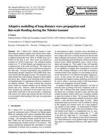 Adaptive Modelling of Long-distance Wave... by Popinet, S.