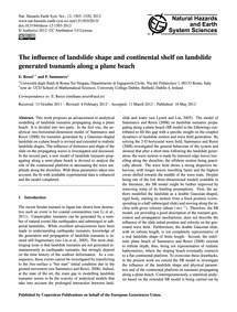 The Influence of Landslide Shape and Con... by Renzi, E.