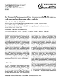 Development of a Management Tool for Res... by Gómez-beas, R.