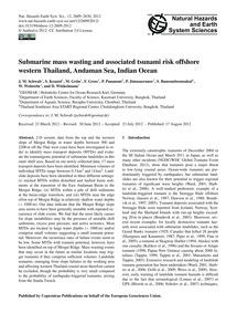 Submarine Mass Wasting and Associated Ts... by Schwab, J. M.