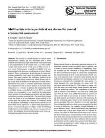 Multivariate Return Periods of Sea Storm... by Corbella, S.