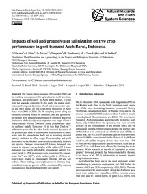 Impacts of Soil and Groundwater Saliniza... by Marohn, C.
