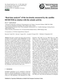 Real Time Analysis of the Ion Density Me... by Li, M.