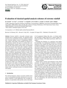 Evaluation of Classical Spatial-analysis... by Ceresetti, D.