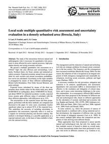 Local Scale Multiple Quantitative Risk A... by Lari, S.