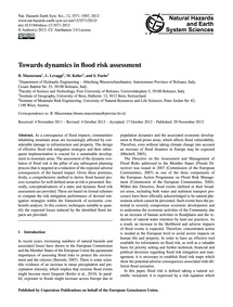 Towards Dynamics in Flood Risk Assessmen... by Mazzorana, B.