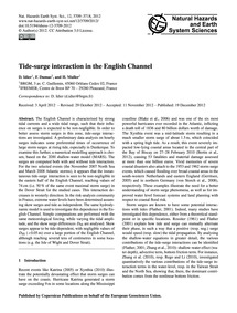 Tide-surge Interaction in the English Ch... by Idier, D.