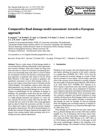 Comparative Flood Damage Model Assessmen... by Jongman, B.