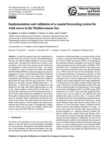 Implementation and Validation of a Coast... by Inghilesi, R.