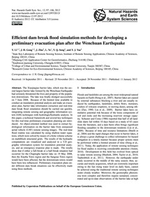 Efficient Dam Break Flood Simulation Met... by Li, Y.