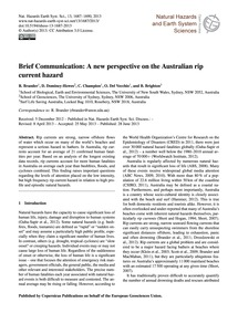 Brief Communication: a New Perspective o... by Brander, R.