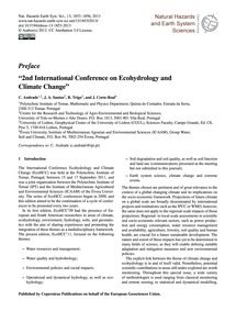 Preface 2Nd International Conference on ... by Andrade, C.