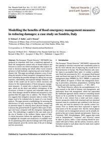 Modelling the Benefits of Flood Emergenc... by Molinari, D.