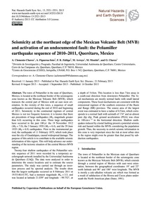 Seismicity at the Northeast Edge of the ... by Clemente-chavez, A.