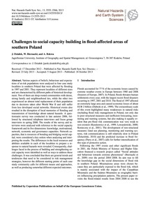 Challenges to Social Capacity Building i... by Działek, J.