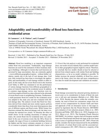 Adaptability and Transferability of Floo... by Cammerer, H.