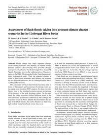 Assessment of Flash Floods Taking Into A... by Velasco, M.
