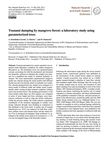 Tsunami Damping by Mangrove Forest: a La... by Strusińska-correia, A.