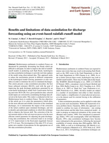 Benefits and Limitations of Data Assimil... by Coustau, M.