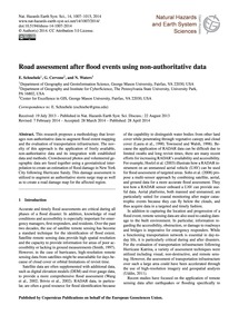 Road Assessment After Flood Events Using... by Schnebele, E.