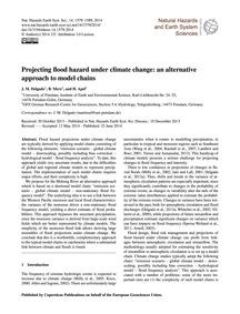 Projecting Flood Hazard Under Climate Ch... by Delgado, J. M.