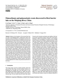 Palaeoclimate and Palaeoseismic Events D... by Wang, X. Q.