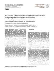 The Use of Flo2D Numerical Code in Lahar... by Caballero, L.