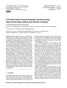 Uav-based Urban Structural Damage Assess... by Fernandez Galarreta, J.