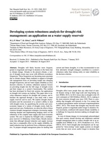 Developing System Robustness Analysis fo... by Mens, M. J. P.