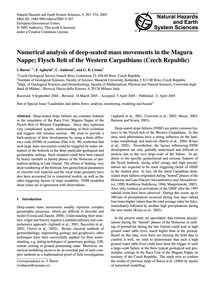 Numerical Analysis of Deep-seated Mass M... by Baron, I.