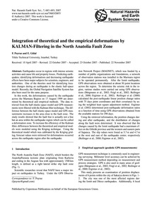 Integration of Theoretical and the Empir... by Poyraz, F.
