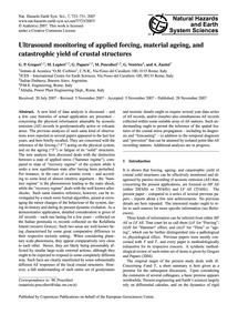 Ultrasound Monitoring of Applied Forcing... by Gregori, G. P.