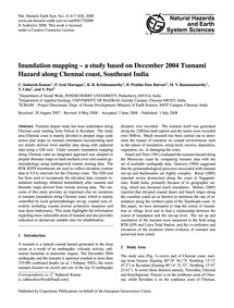 Inundation Mapping – a Study Based on De... by Satheesh Kumar, C.