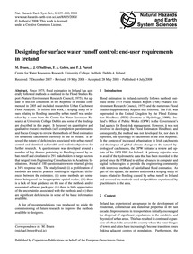 Designing for Surface Water Runoff Contr... by Bruen, M.