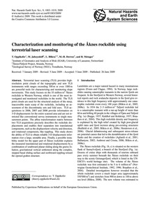 Characterization and Monitoring of the Å... by Oppikofer, T.