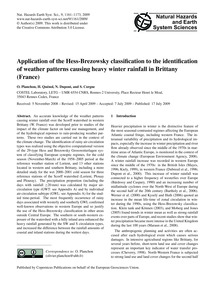 Application of the Hess-brezowsky Classi... by Planchon, O.