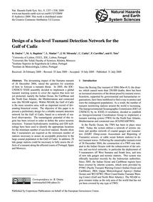 Design of a Sea-level Tsunami Detection ... by Omira, R.