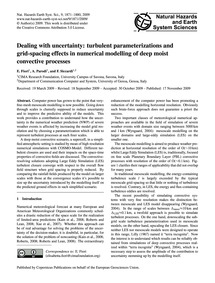 Dealing with Uncertainty: Turbulent Para... by Fiori, E.