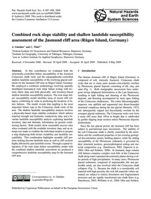 Combined Rock Slope Stability and Shallo... by Günther, A.