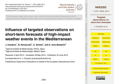 Influence of Targeted Observations on Sh... by Campins, J.
