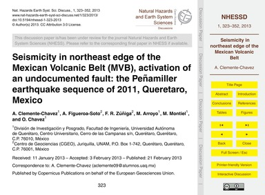Seismicity in Northeast Edge of the Mexi... by Clemente-chavez, A.