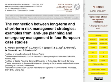 The Connection Between Long-term and Sho... by Prenger-berninghoff, K.