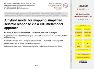 A Hybrid Model for Mapping Simplified Se... by Grelle, G.