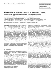 Classification of Probability Densities ... by Podladchikova, O.
