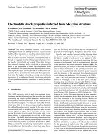 Electrostatic Shock Properties Inferred ... by Pottelette, R.