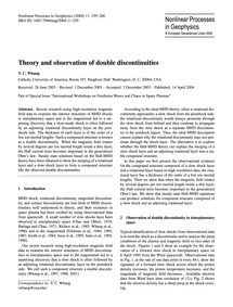 Theory and Observation of Double Discont... by Whang, Y. C.