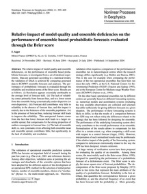 Relative Impact of Model Quality and Ens... by Atger, F.